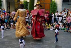 "En Jeroni i na Badamar ballant ""La Melicana"""