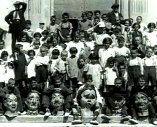 Comparsa de capgrossos de l'any 1928