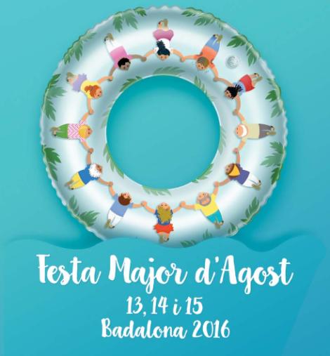 Cartell de la Festa Major 2016.