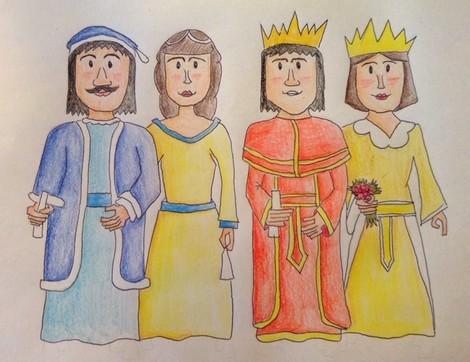 El dibuix guanyador del concurs, de Marc Estrecha.